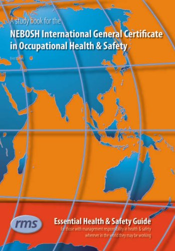 A Study Book for the NEBOSH International General Certificate in Occupational Health and Safety by Ian Coombes