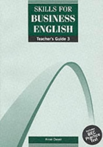 DBE: Skills for Business English Teachers Guide 3 by
