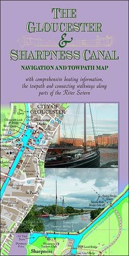 The Gloucester & Sharpness Canal Navigation and Towpath Map by Nick Darien-Jones