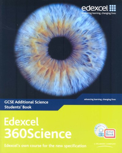 Edexcel GCSE 360 Science: GCSE 360 Additional Science Students' Book and ActiveBook by