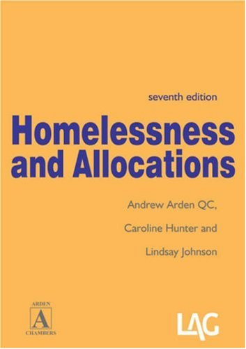 Homelessness and Allocations by Andrew Arden, QC