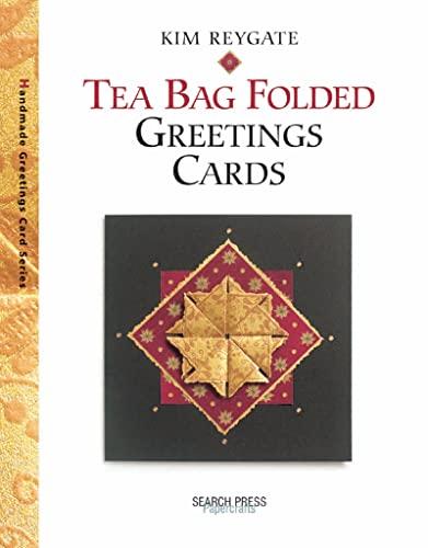 Tea Bag Folded Greetings Cards by Kim Reygate