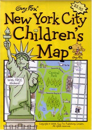 Guy Fox New York City Children's Map by Kourtney Harper