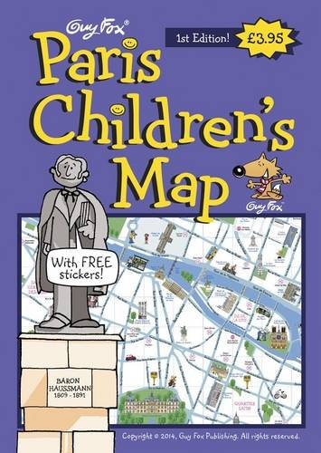 Guy Fox Paris Children's Map by Kourtney Harper