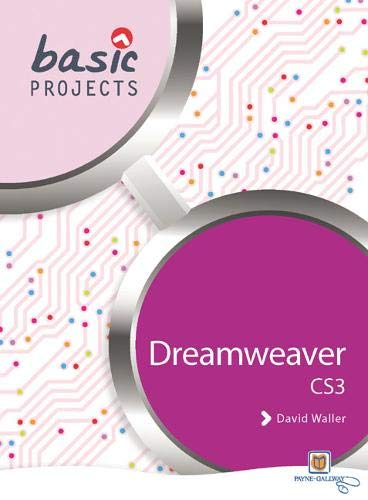 Basic Projects in Dreamweaver by John Giles