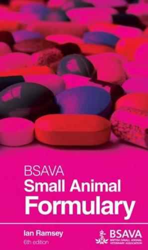 BSAVA Small Animal Formulary by Ian Ramsey