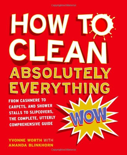 How to Clean Absolutely Everything by Yvonne Worth