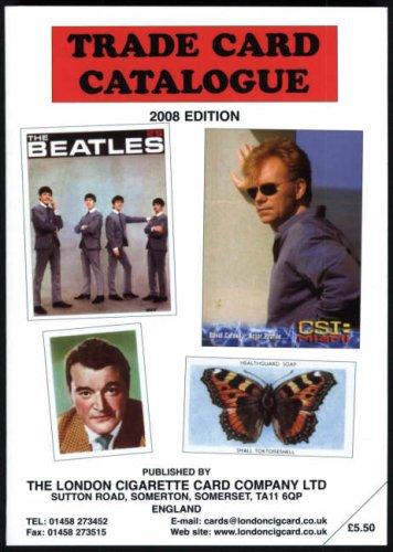 Trade Card Catalogue 2008: 2008 by Ian A. Laker