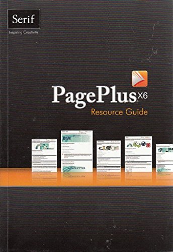 PagePlus X6 User Guide by Serif Europe Limited