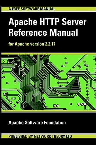 Apache HTTP Server Reference Manual - for Apache Version 2.2.17 by Apache Software Foundation
