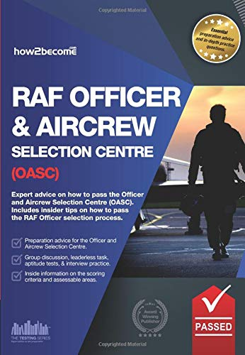 Royal Air Force Officer Aircrew and Selection Centre Workbook (OASC) by Richard McMunn