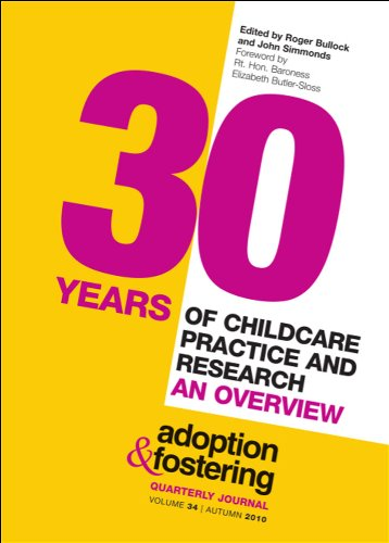 30 Years of Childcare Practice and Research: An Overview by John Simmonds
