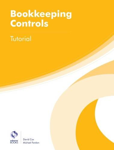 Bookkeeping Controls Tutorial by David Cox