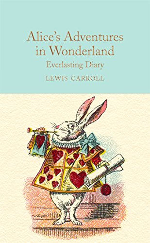 Alice in Wonderland Everlasting Diary by Rosemary Gray