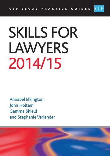 Skills for Lawyers: 2014/2015 by Annabel Elkington