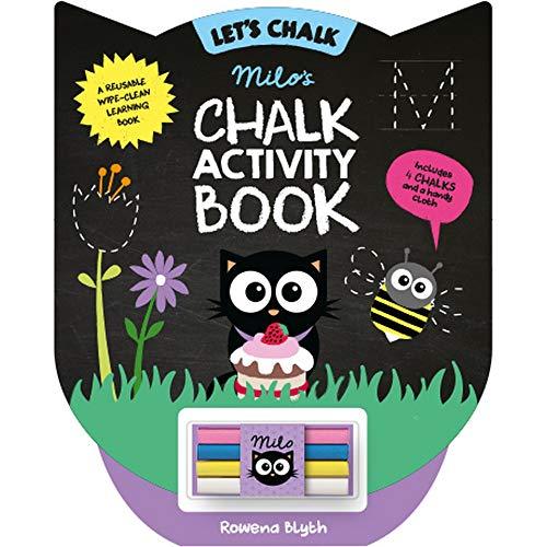 Milo's Chalk Activity Book by Rowena Blyth