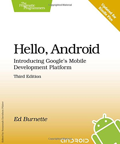 Hello, Android by Ed Burnette