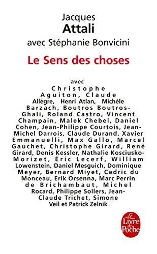 Le Sens DES Choses by Jacques Attali