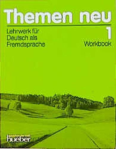 Themen Neu English Workbook: Stage 1 by