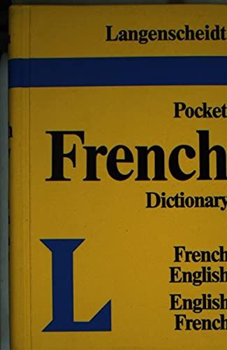 Langenscheidt Pocket French Dictionary: French-English, English-French by
