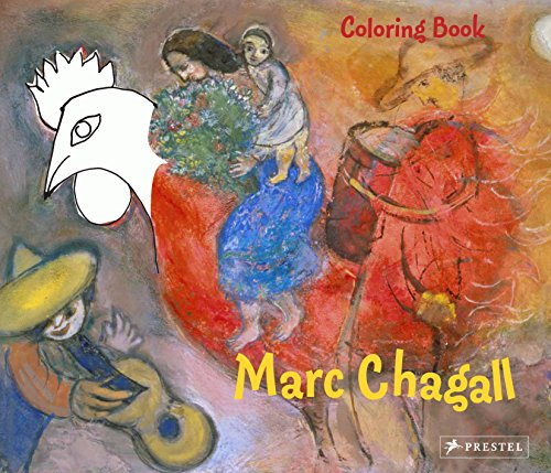 Coloring Book Chagall by Doris Kutschbach