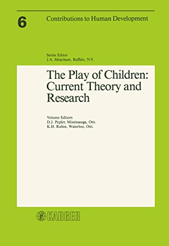 The Play of Children: Current Theory and Research by Debra J. Pepler