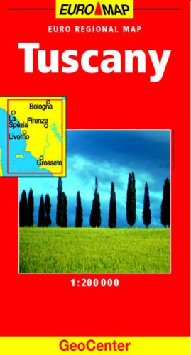 Tuscany GeoCenter Euro Map by