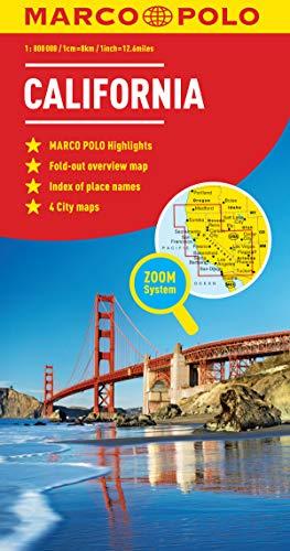 California Marco Polo Map by Marco Polo