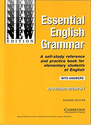 Essential English Grammar by Murphy