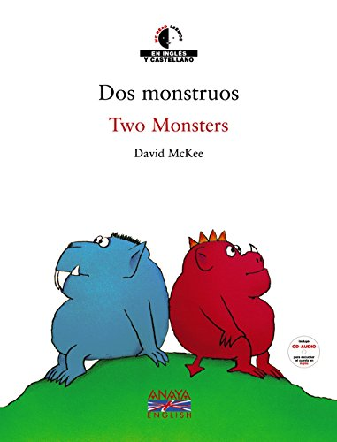 We Read/Leemos - Collection of Bilingual Children's Books: DOS Monstruos / Two Monsters + CD by
