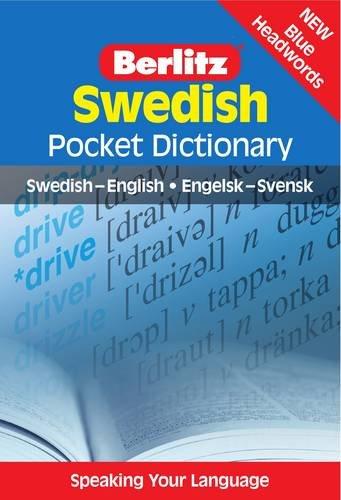 Berlitz: Swedish Pocket Dictionary: Swedish-English = Engelsk-Svensk by